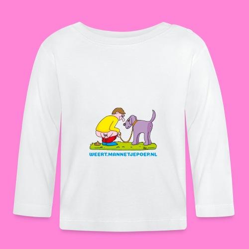 Mannetje Poep Illustratie - T-shirt