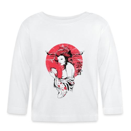 Japan Sonne - Baby Langarmshirt