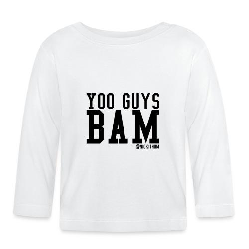 BAM! - Baby Langarmshirt