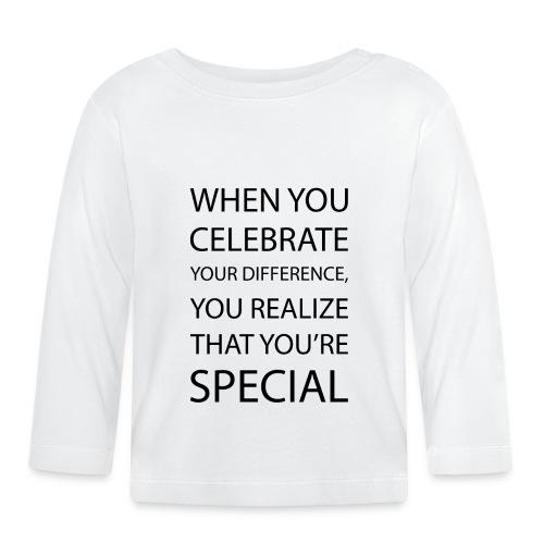 You're special - Koszulka niemowlęca z długim rękawem