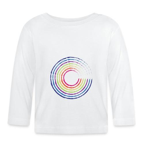 Rainbow Circle - Koszulka niemowlęca z długim rękawem