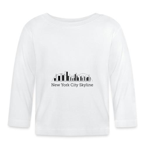 ny skyline - Baby Long Sleeve T-Shirt