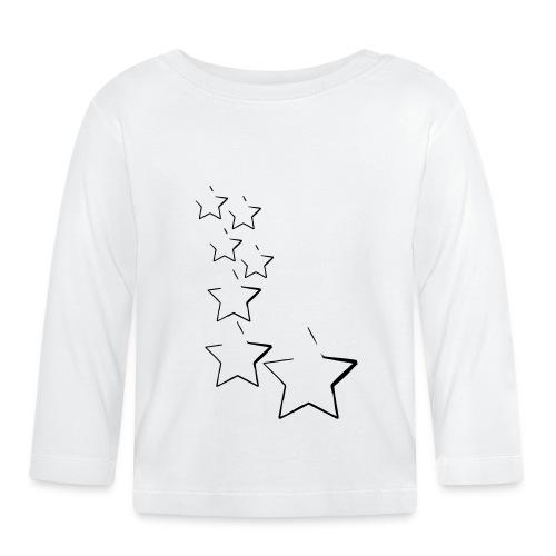 sterne - Baby Langarmshirt