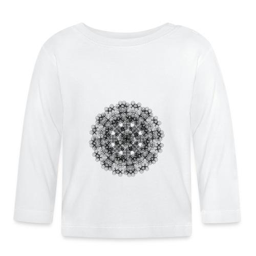 Flower mix - Langærmet babyshirt