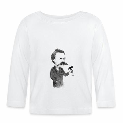 Friedrich Nietzsche - Camiseta manga larga bebé