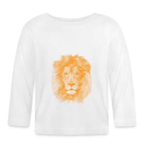 lionking (orange) - Baby Long Sleeve T-Shirt