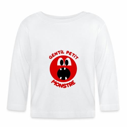 Gentil Petit Monstre - T-shirt manches longues Bébé