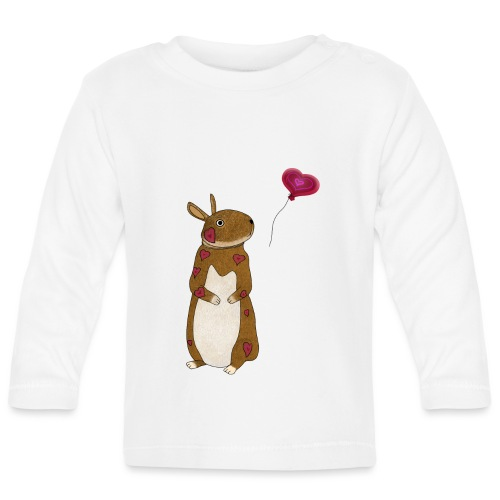 Valentine bunny - Baby Long Sleeve T-Shirt