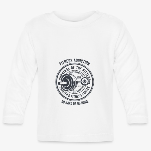 Fitness Addiction - T-shirt manches longues Bébé