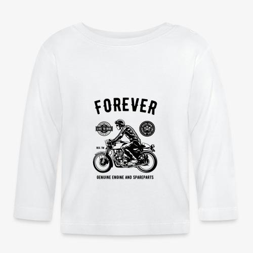 Deux roues pour toujours - T-shirt manches longues Bébé