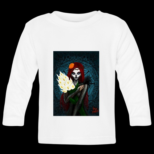 Death and lillies - Baby Long Sleeve T-Shirt