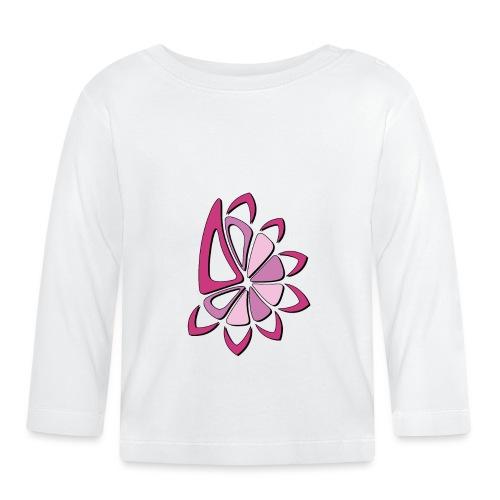 spicchi di sole multicolore rosa - Maglietta a manica lunga per bambini