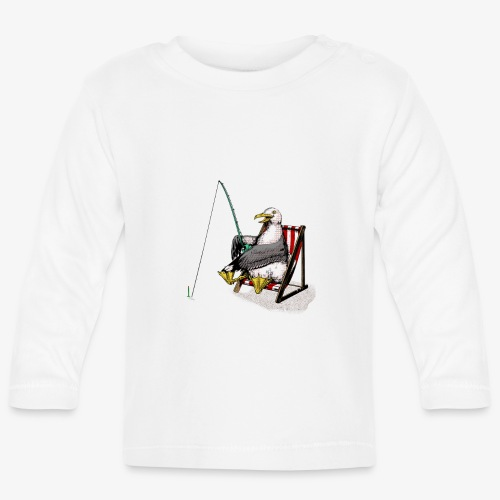 Seagull Fisher - Baby Long Sleeve T-Shirt