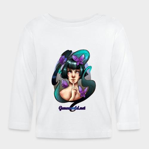 Geneworld - Papillons - T-shirt manches longues Bébé