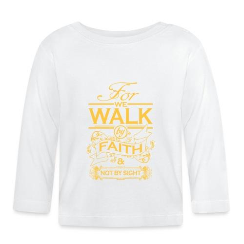 walk yellow - Baby Long Sleeve T-Shirt
