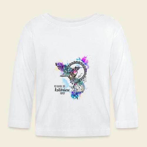 Kolibriere gleich - Baby Langarmshirt