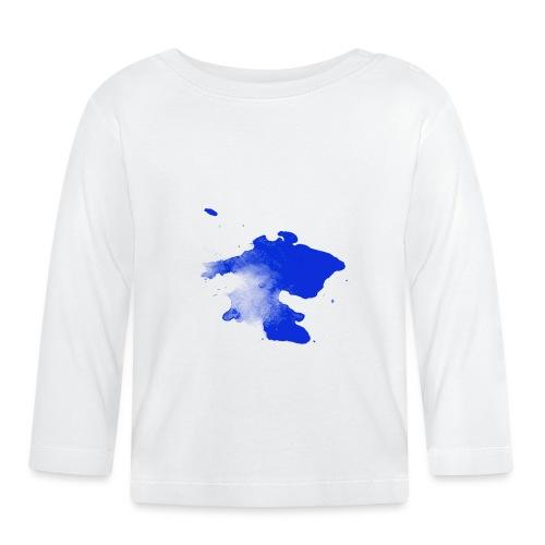 ink splatter - Baby Long Sleeve T-Shirt