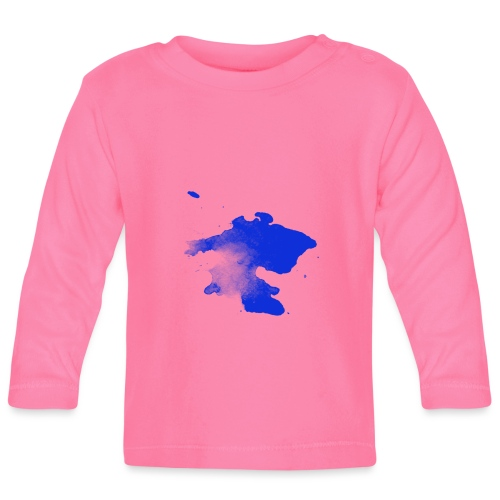 ink splatter - Baby Long Sleeve T-Shirt