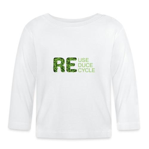 REuse REduce REcycle - Maglietta a manica lunga per bambini