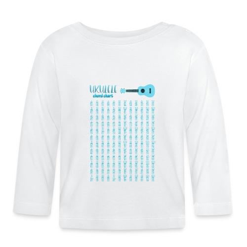 Ukulele chord Chart - Camiseta manga larga bebé