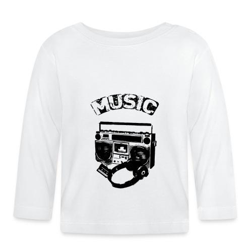 musik1 - Langærmet babyshirt