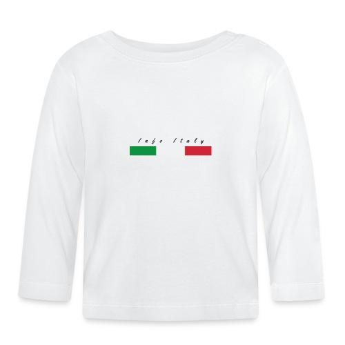 Info Italy Design - Maglietta a manica lunga per bambini