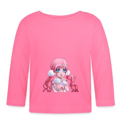 Pink fluffy - T-shirt manches longues Bébé