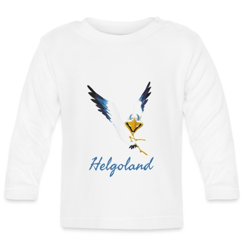 Lachmöwe Helgoland - Baby Langarmshirt