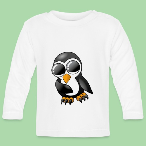 Pengu der keine Pinguin - Baby Langarmshirt