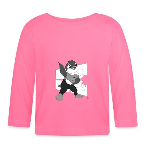 Le pingouin de Nice - T-shirt manches longues Bébé