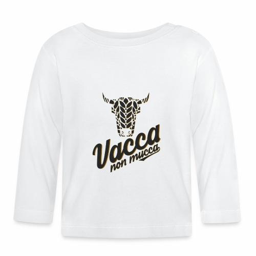Vacca non mucca - Maglietta a manica lunga per bambini