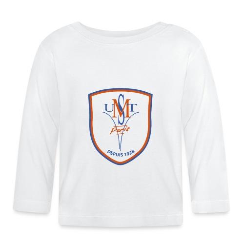 VraiLOgoUSMTV2B png - T-shirt manches longues Bébé