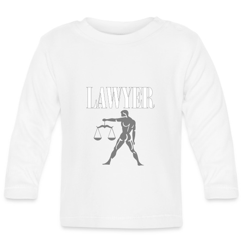 LAWYER hooded sweatshirt - Felpa avvocato - Baby Long Sleeve T-Shirt