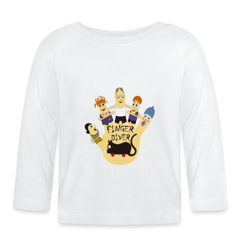 FINGER_DIVER - Camiseta manga larga bebé