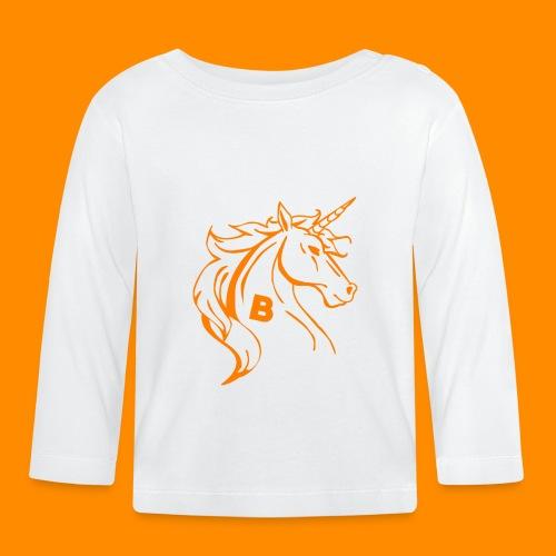 orange biodusty unicorn shirt - T-shirt