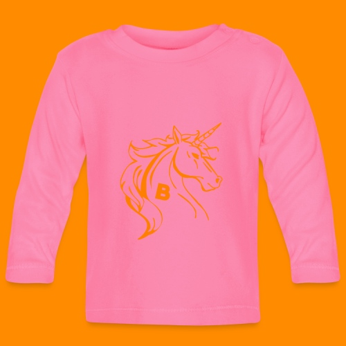 orange biodusty unicorn shirt - T-shirt