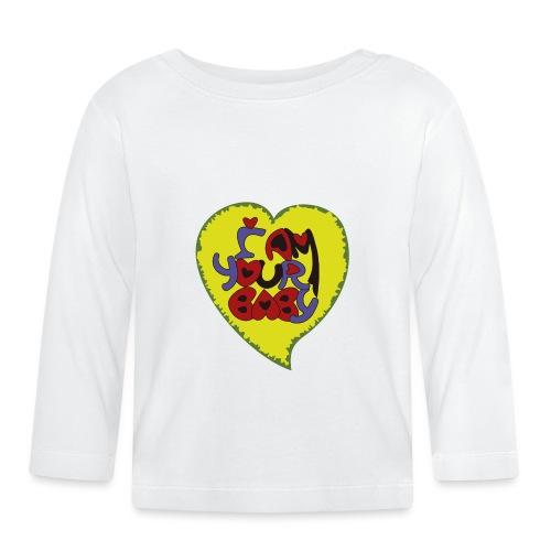 chica de tu corazón, tu chica, your baby - Camiseta manga larga bebé