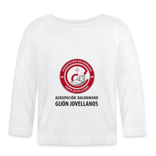 Escudo Gijón Jovellanos - Camiseta manga larga bebé