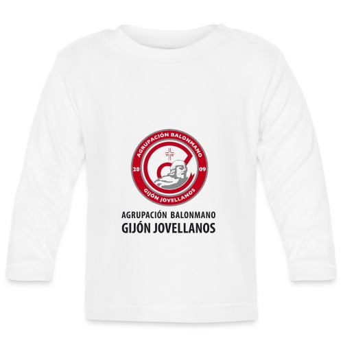 Escudo vertical básico - Camiseta manga larga bebé