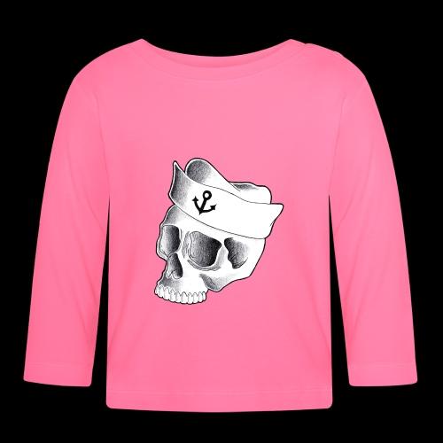 Teschio Marinaio - Maglietta a manica lunga per bambini