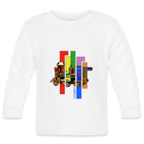 smARTkids - Coco Locomofo - Baby Long Sleeve T-Shirt