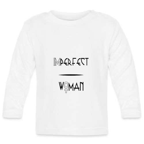 imperfect woman - Maglietta a manica lunga per bambini