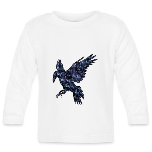 Ravn - Langarmet baby-T-skjorte