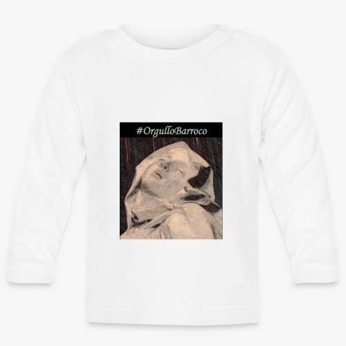 #OrgulloBarroco Teresa dibujo - Camiseta manga larga bebé