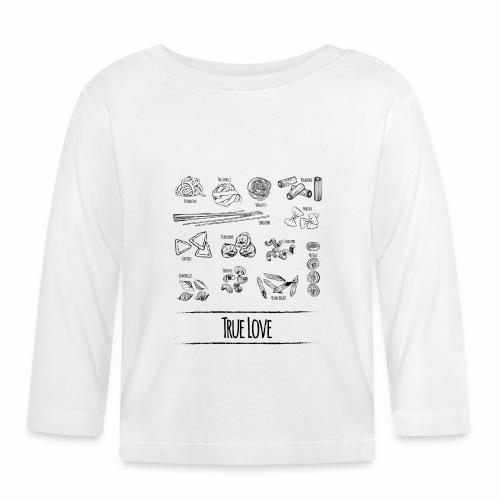 Pasta - My True Love - Baby Langarmshirt