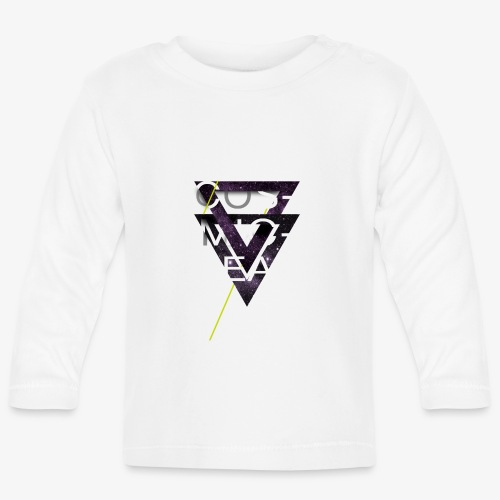 Cosmicleaf Triangles - Baby Long Sleeve T-Shirt