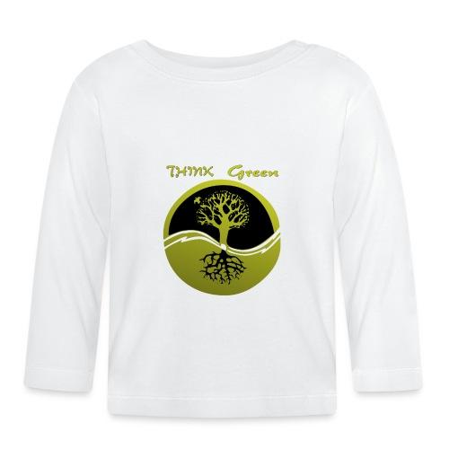 Think green - Camiseta manga larga bebé