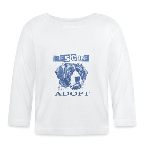 Rescue adopt - Camiseta manga larga bebé
