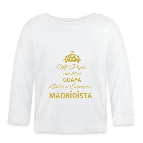 guapa lista siempre madridista - Maglietta a manica lunga per bambini