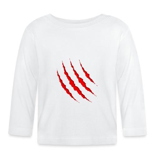 Marca de herida superficial - Camiseta manga larga bebé